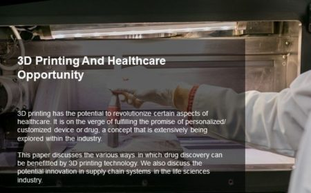 3D Printing and Healthcare Opportunity
