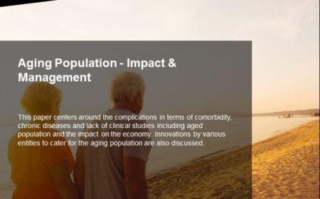 Aging Population – Impact & Management