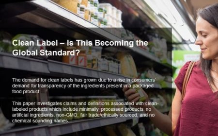 Clean Label – Is This Becoming the Global Standard?