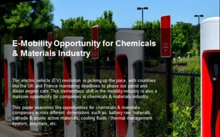 E-Mobility Opportunity for Chemicals & Materials Industry