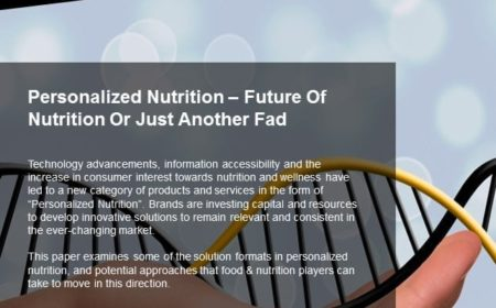 Personalized Nutrition – Future Of Nutrition Or Just Another Fad