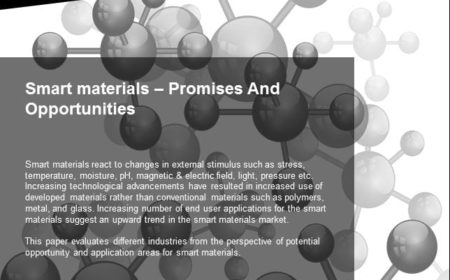 Smart materials – Promises And Opportunities