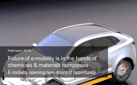 Future of e-mobility is in the hands of chemicals & materials companies