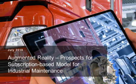 Subscription of Industrial Maintenance through AR Solutions