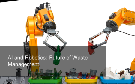 AI and Robotics: Future of Waste Management