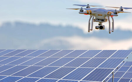 Empowering Renewable Energy Industry with Drones and Robots